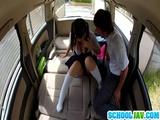 Hot Asian Teen Fucked In Car