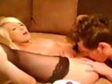 Cam; Sexy Blonde Amateur Fucks and Sucks