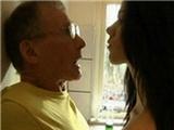 Young horny tenant  18 seduce and fucks mature man
