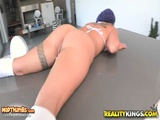 Cameron In Bouncy Booty For Monster Curves Reality Kings