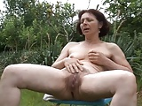Enjoying Nature In The Garden