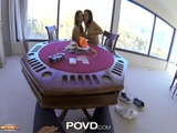 POVD Strip Poker Leads Teen Girls Into Sexy Threesome