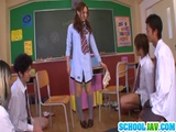 Sexy Asian Yukina Momota Blows Cocks