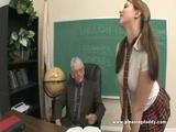 Naughty Student Fucking Her Old Teacher
