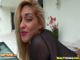 Valentina In Delicious Mesh For 8thStreetLatinas RealityKings