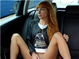 Sexy redhead fucked in fake taxi - amateur video