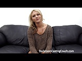 Reluctant Anal and Creampie on Casting Couch