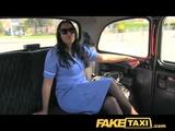 FakeTaxi Naughty Nurse In Cab Confession