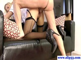 Classy British Babe Assfucked By Old Man