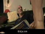 Old Man Blows Ass And Tiny Pussy