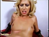 Melanie Silver Gets Her Butt Pounded Hard In Threesome