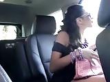 Ariella Ferrera fucking her driver