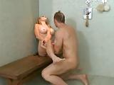 Wet Blonde Babe