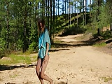 Young teen In nature