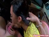 Italian Babe Gianna Nicole Handles Cock