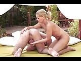 Milf With Great Body Fuck And Ass Rimming In The Garden