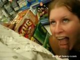 Blowjob In Supermarket - Strange Videos
