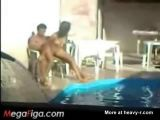 Voyeur Captures Fucking Couple - Pool Videos