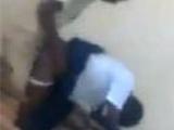 Congo teacher caught fucking student