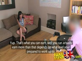 FakeAgentUK Dirty Talking MILF Takes It In Both Holes 2