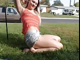 Flashing on her front loan