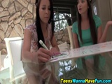 Newb Teen Spunked Outside