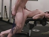 Submissive girlfriend fucked and whipped