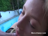 Hairy Nymph Fucked At Poolside - Alyssa Branch Videos