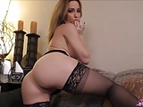 Angela Sommers dirty talk masturation and cock ride