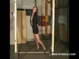 Beautiful Girl Hanged By The Neck - Hanging Videos