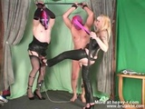 Two Slaves Ball Busted - Cbt Videos