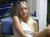 Amazing blonde teen