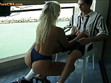 Amateur czech couple in holiday