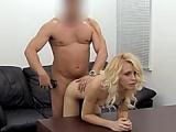 Anally slammed blonde amateur slim honey