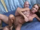 Mommy wants to get away from perv's turbo style fucking but can't