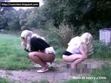 2 Girls Outdoors Shitting - Scat Videos