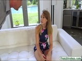 Pretty teen Iggy Amore fucked by stepdad