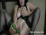 German Milf Fuck Huge Cucumber - Sex Videos