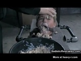 Cruel Whipping And Disgusting Food Fetish! - Restraint Videos