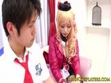 Japanese fantasy babe Miki Sunohara creampied