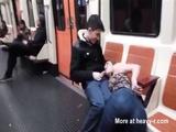 Public Blowjob In Barcelona Subway - Blowjob Videos