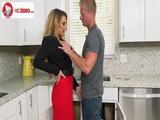 Corinna Blake Kitchen Sex HD