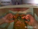 Extreme Femdom Diarrhea Face Shower  - Scat Videos