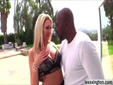 A big black cock and horny Lexi Lowe