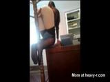 Naughty Secretary Caught On Hidden Cam - Coat rack Videos