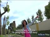 Eurobabe Bessi fucked by stranger dude