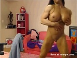Scary Muscled Webcam Babe - Muscle babe Videos