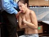Naive Teen Fucked After Being Caught Shoplifting