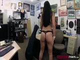 Slutty babe fucks for money and satisfy her sexual craving