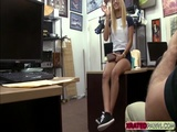 Slutty Swagger teen gets her pussy and her tits sold